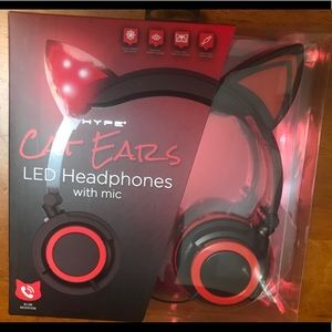 New in box. Cat Ear Headphones. Super cute and FUN